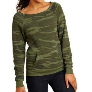 Ecco Tops - Ecco Fleece CAMO Sweatshirt in Women